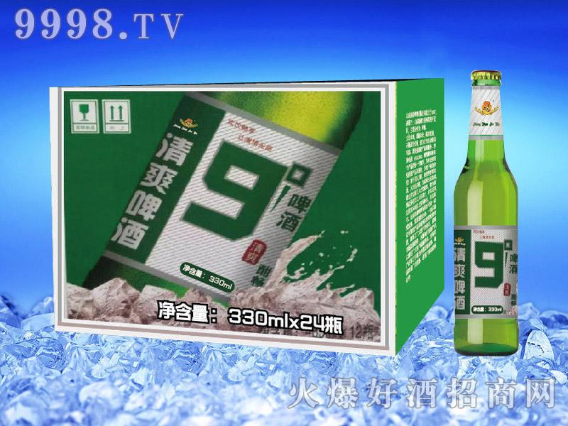 亮剑啤酒清爽啤酒9°330ml×24瓶