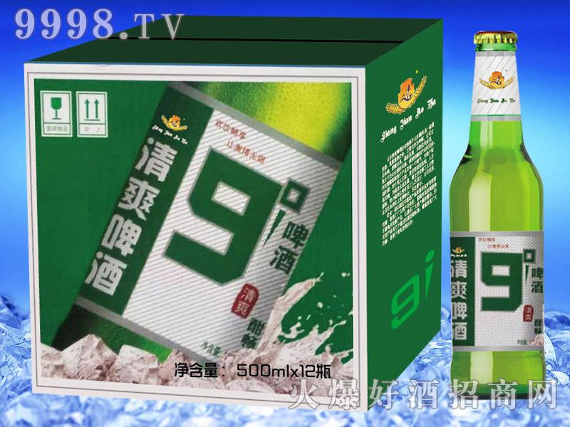 亮剑啤酒清爽啤酒9°500ml×12瓶