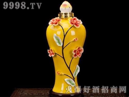 贵州花酒(花酿原浆私藏酒・一枝独秀)-白酒招商信息