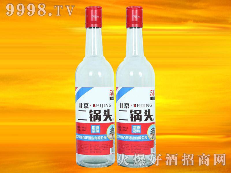 军旗百年北京二锅头酒(白)
