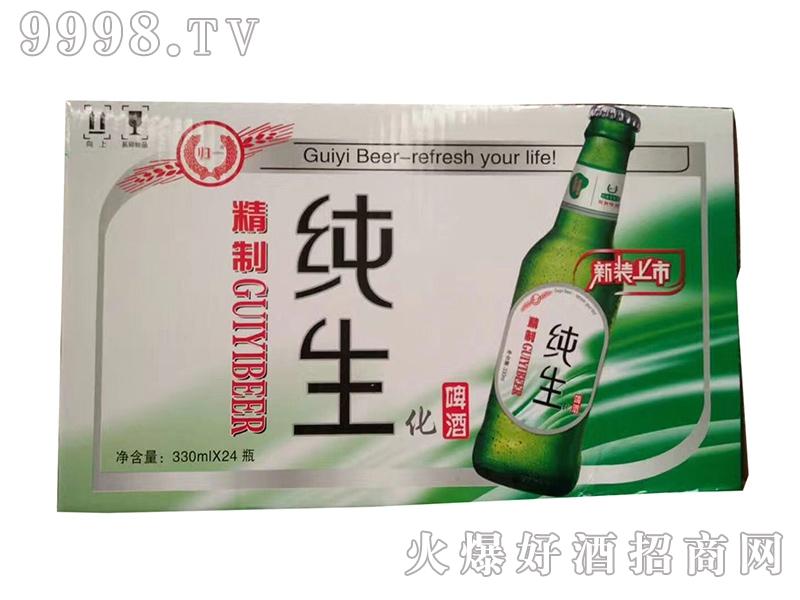 哈尔滨归一啤酒精制纯生