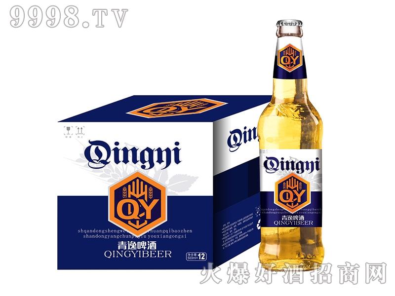 青逸啤酒500mlX12蓝标