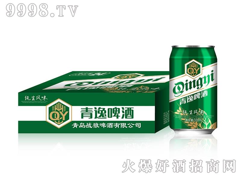 青逸啤酒330ml绿标