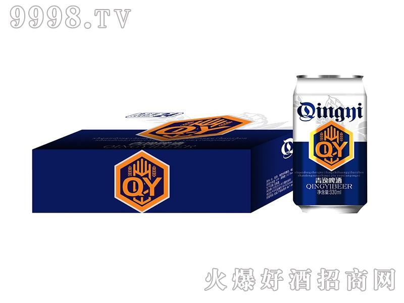 青逸啤酒330ml蓝标