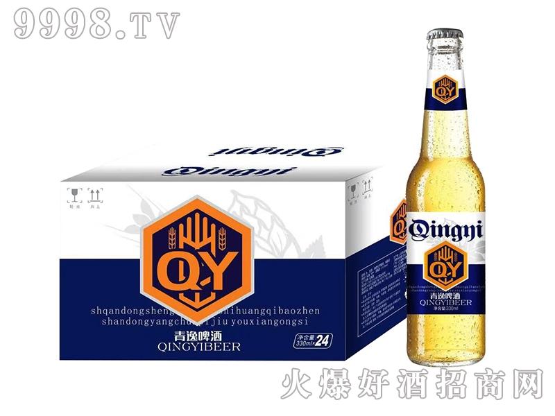 青逸啤酒330mlX24蓝标