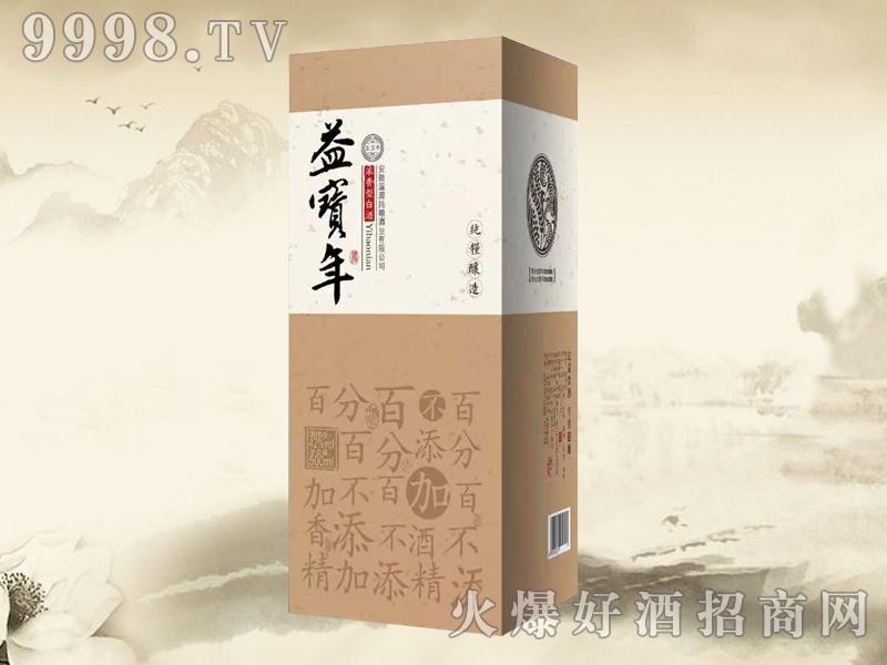 益宝年酒42度盒装