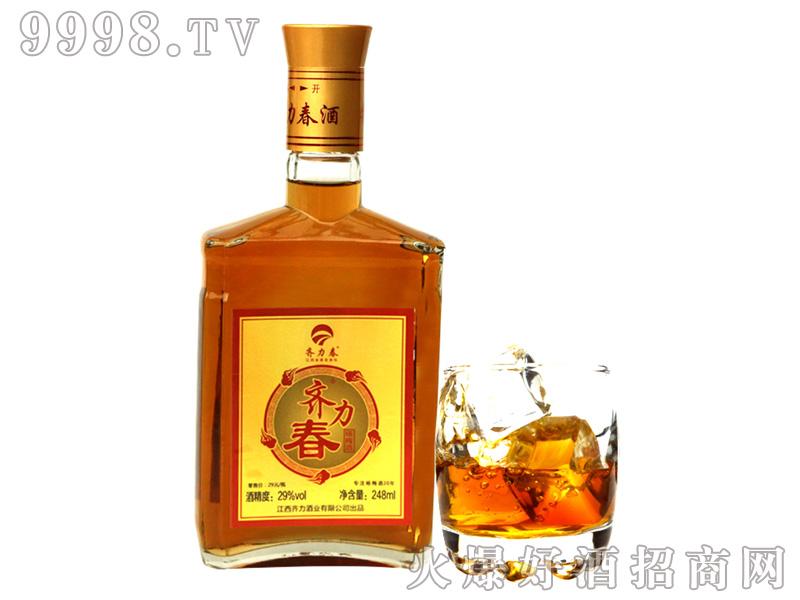 齐力春杨梅酒29度248ml-好酒招商信息