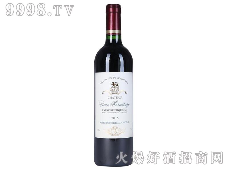 璞鲁斯老遗产城堡红葡萄酒