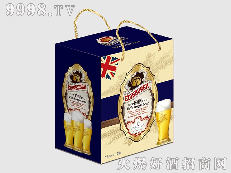 公爵系列黄啤礼盒500mlx12罐