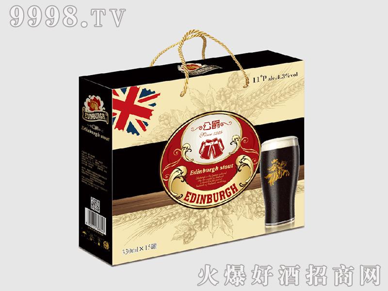 公爵系列黑啤礼盒330mlx15罐
