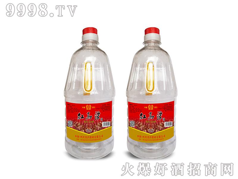 红高粱桶酒2000ml