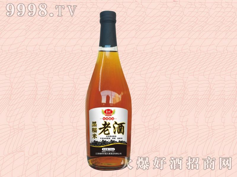 福又康・黑糯米老酒700ml-好酒招商信息