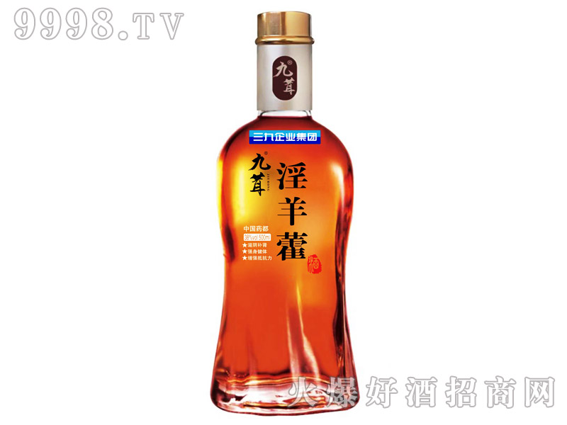 九茸淫羊藿酒38°500ml-保健酒招商信息