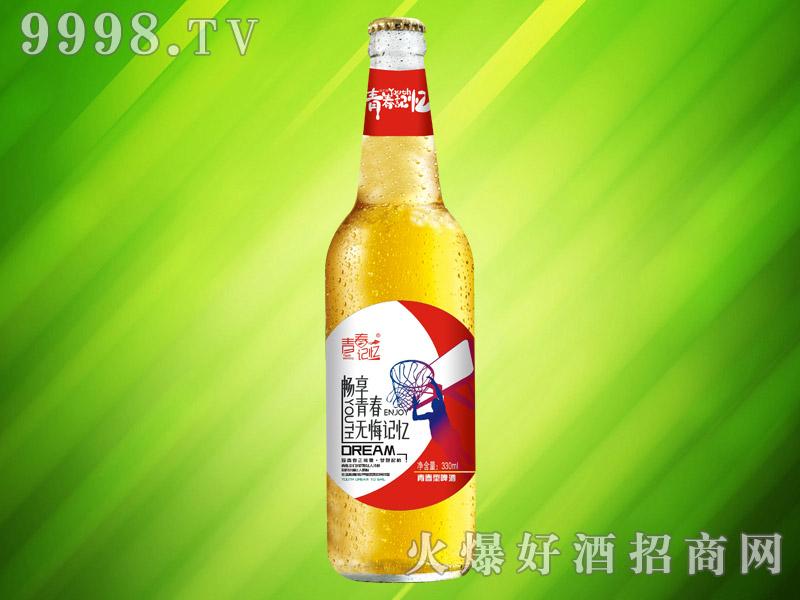青春记忆青春型啤酒330ml(红瓶)