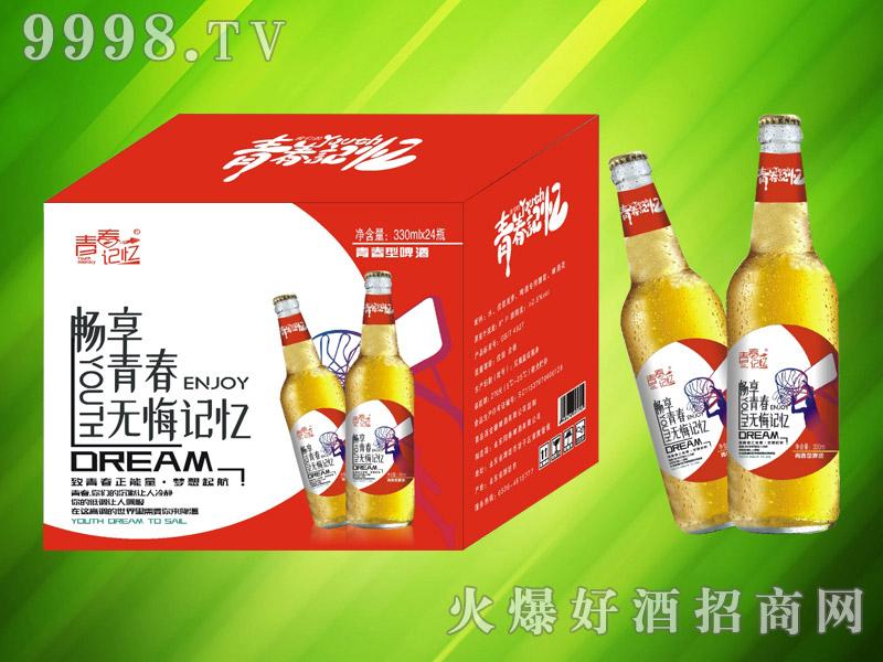 青春记忆青春型啤酒330ml×24瓶