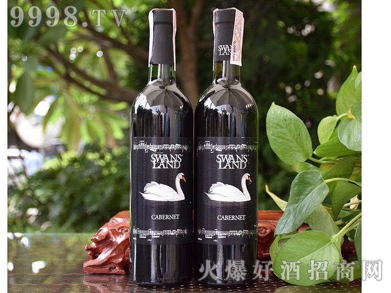 天鹅湖苏维翁解百纳干红葡萄酒750ML
