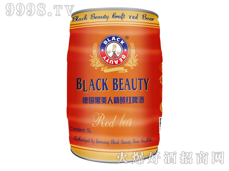 德国黑美人精酿红啤酒5L