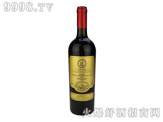 里昂纳多老人头西拉干红葡萄酒