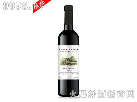 艾隆堡澳洲美乐干红葡萄酒