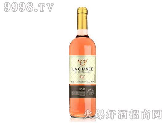 幸运星座桃红葡萄酒