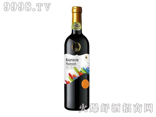艾隆堡彩虹之国西拉子品诺塔吉有机干红葡萄酒