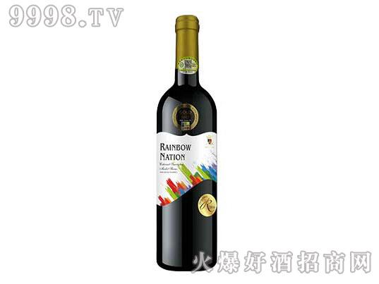 艾隆堡彩虹之国赤霞珠美乐西拉子有机干红葡萄酒