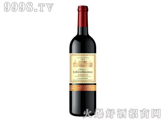木理诺花酒堡拉图雄狮金爵干红葡萄酒