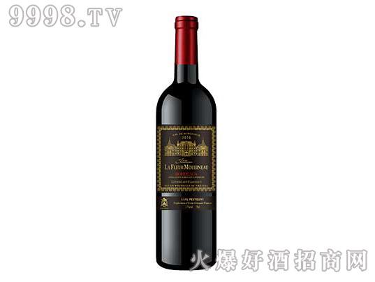 木理诺花酒堡拉图雄狮经典干红葡萄酒
