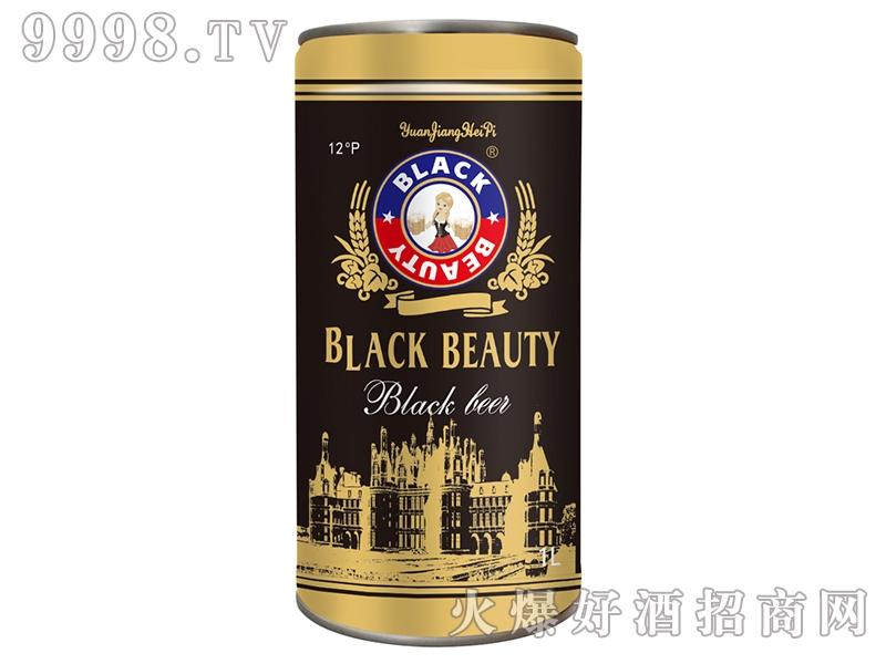 黑美人原浆黑啤1L