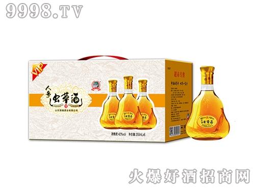 国缘VIP人参虫草酒250ml