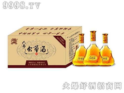 国缘人参虫草酒485ml