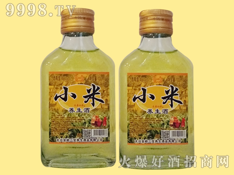 三宝小米养生酒100ml