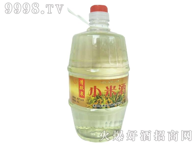 清跃泉小米酒4L