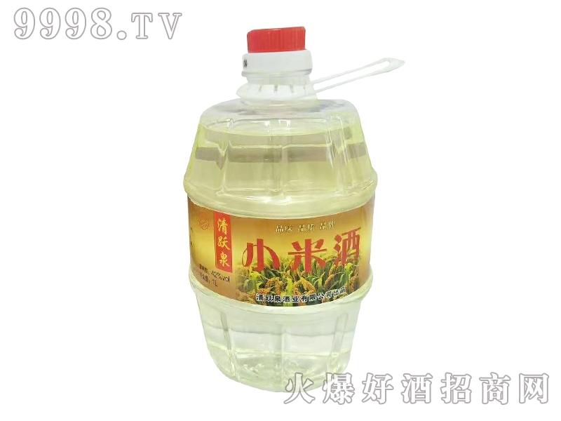 清跃泉小米酒1L