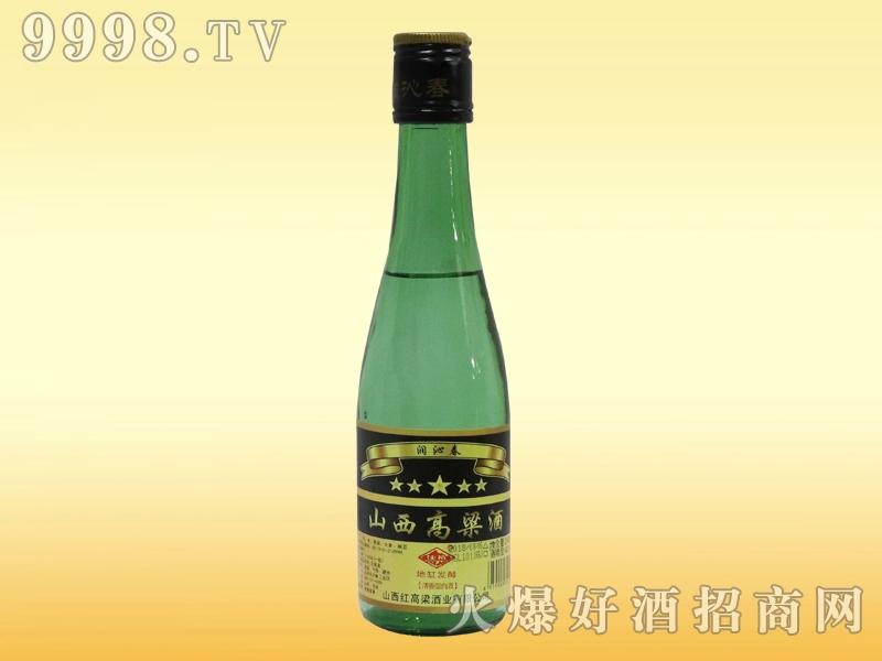 润沁春绿瓶山西高粱酒42°248ml