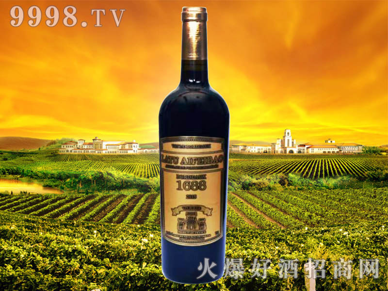 拉图爱菲堡1688干红葡萄酒