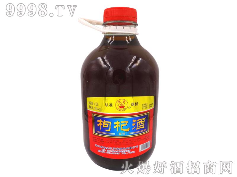 吉泉枸杞酒28度4.3L