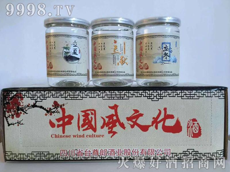 中国风文化酒节气系列