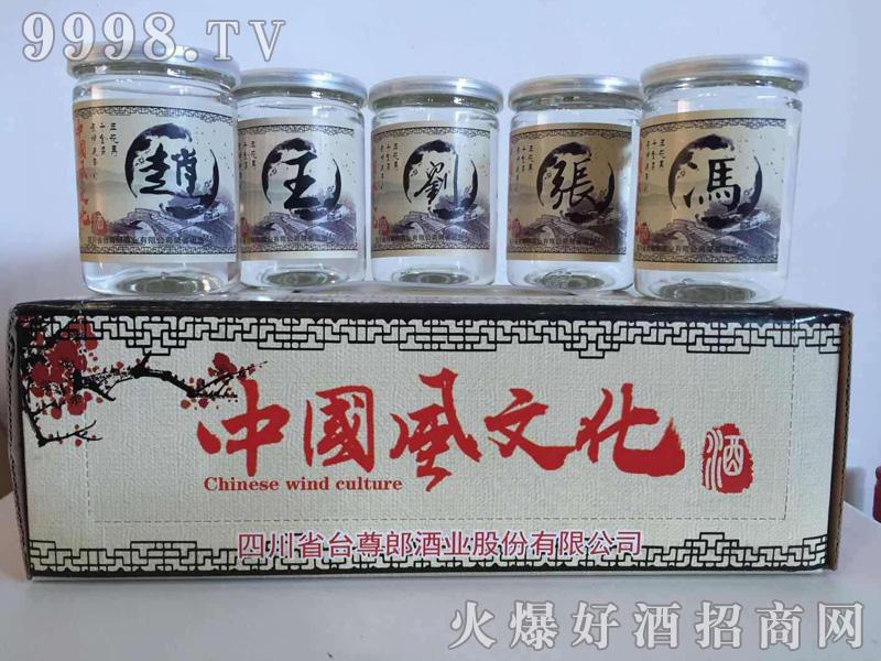 中国风文化酒姓氏系列
