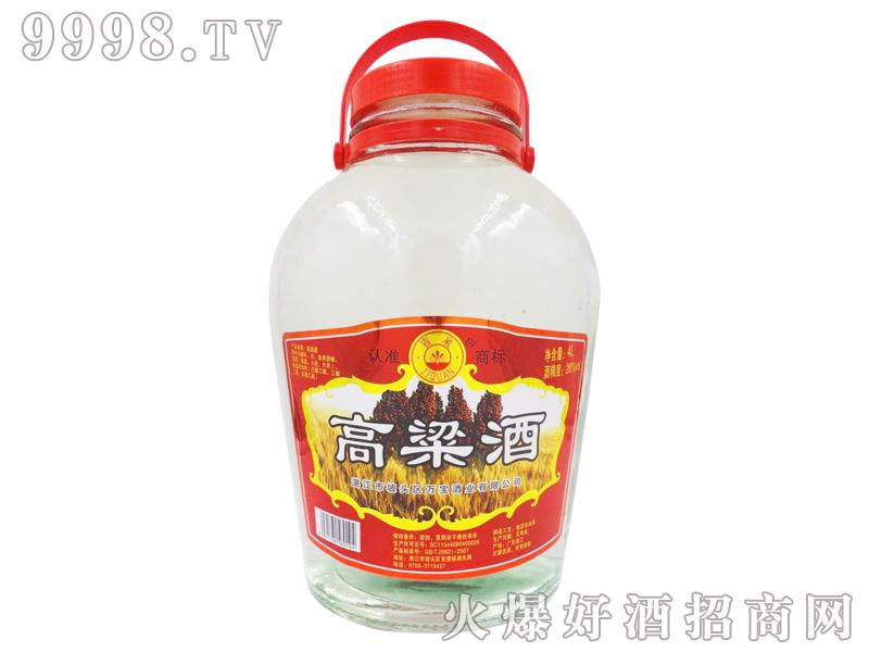 吉泉高粱酒28度4L