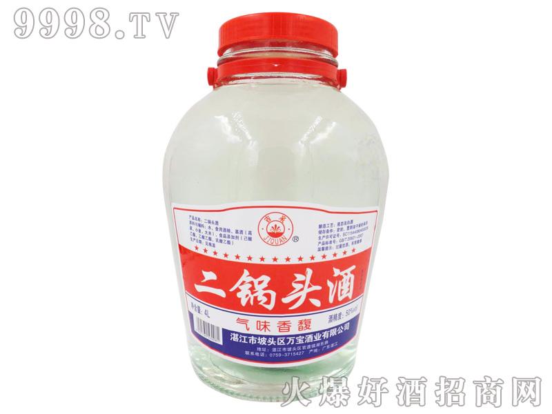 吉泉二锅头酒50度4L