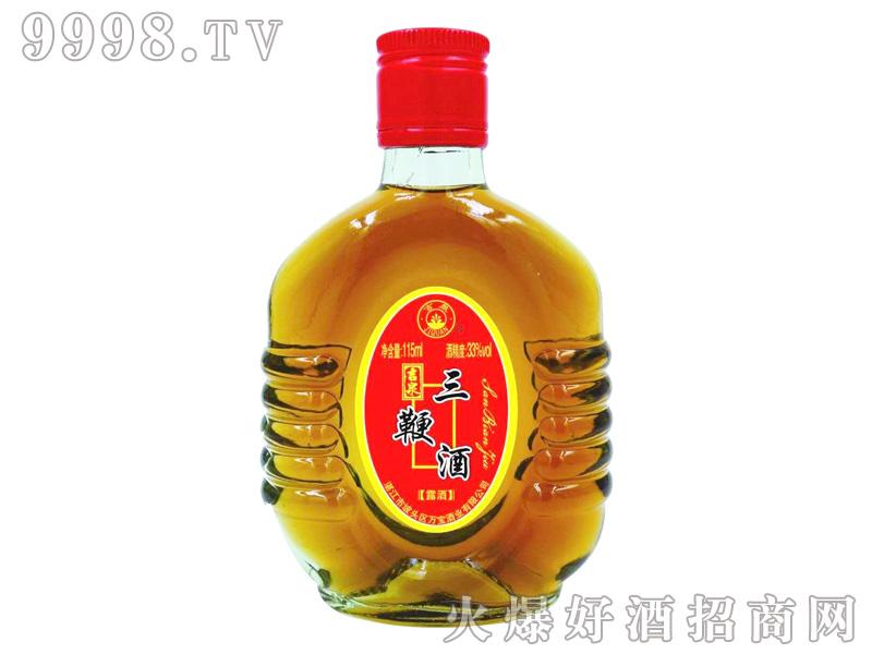 吉泉三鞭酒33度115ml-保健酒招商信息