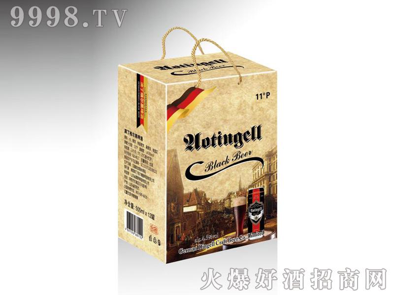 德国奥丁格尔精酿黑啤500mlx12罐