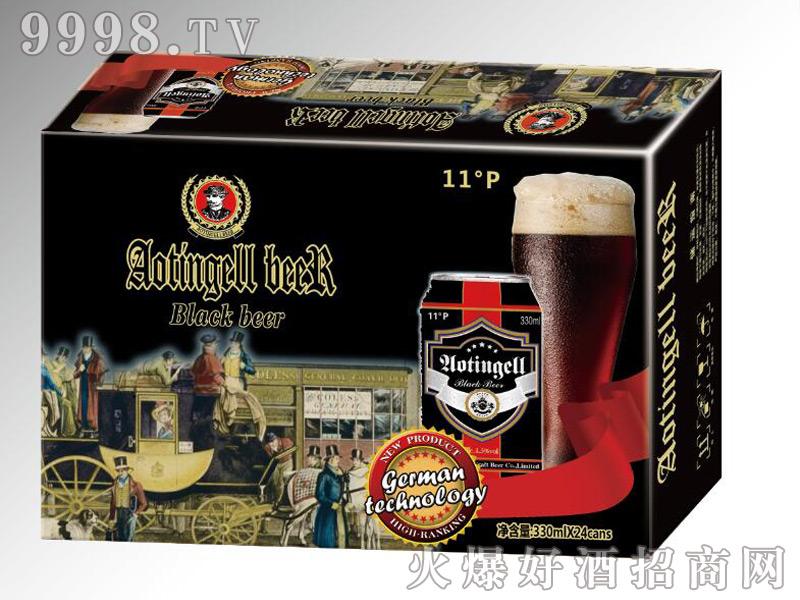 德国奥丁格尔精酿啤酒-黑啤330mlx24