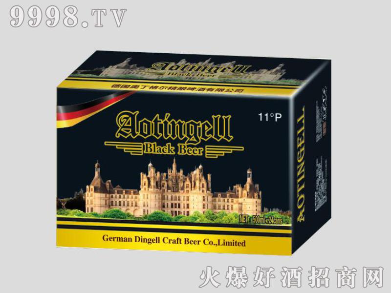 德国奥丁格尔精酿啤酒-黑啤500mlx24