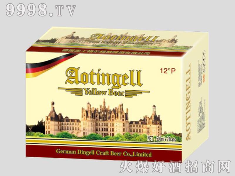 德国奥丁格尔精酿啤酒-黄啤500mlx24