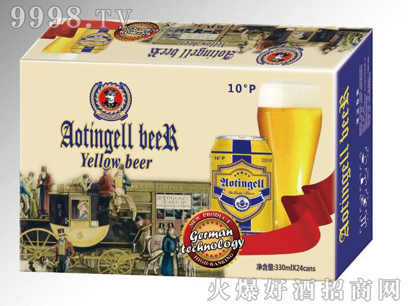 德国奥丁格尔精酿啤酒-黄啤330mlx24