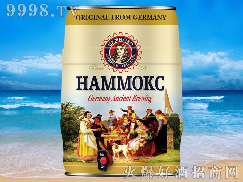 汉姆蕾顿精酿白啤桶装5L