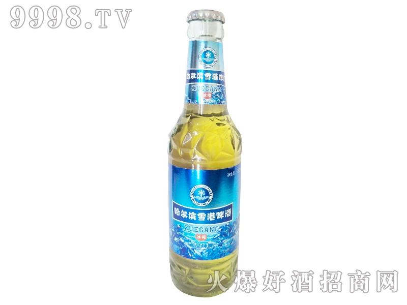 哈尔滨雪港啤酒冰纯330ml