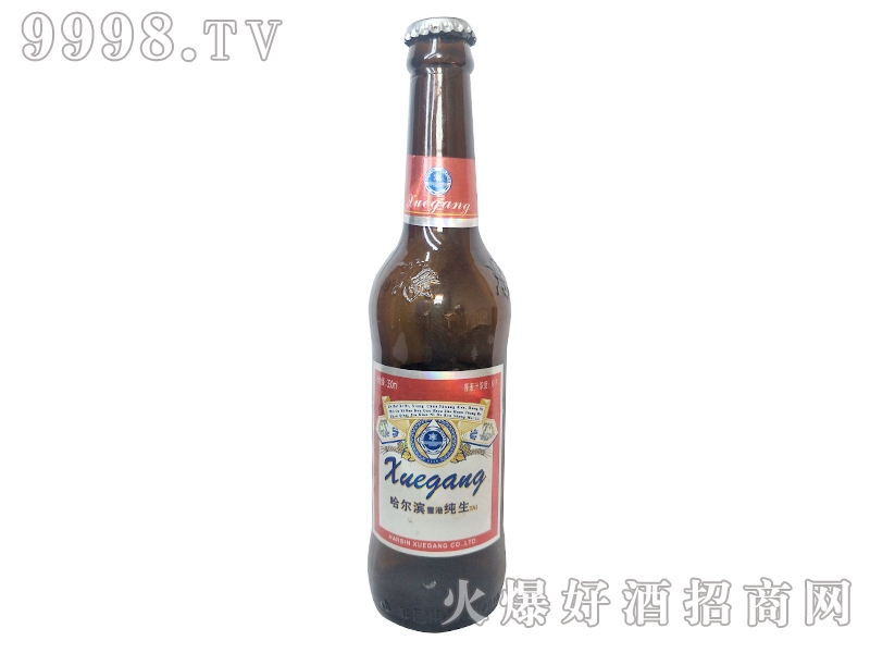 哈尔滨雪港啤酒纯生330ml